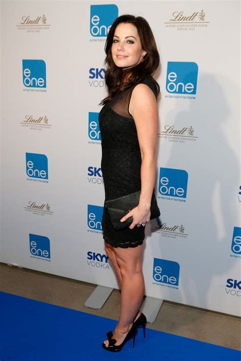 Aqilla Dress By Loislane erica durance in variety entertainment one celebrates the tiff zimbio