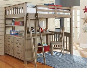 Loft Beds For Adults With Desk Size Loft Bed With Desk Loftbeddeals
