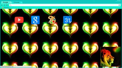 rasta theme for google chrome rasta chrome themes themebeta