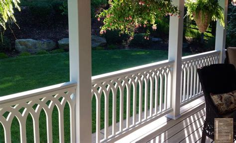 Plastic Railings For Porches vinyl porch railing ideas for porches and decks