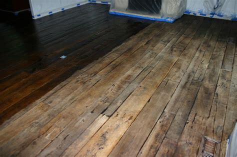 Wood Floor Refinishing Products by Reclaimed Antique Oak Refinishing