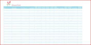 Rsvp List Template Rsvp List Template Task List Template