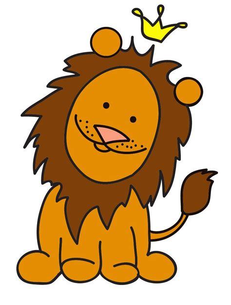 imagenes infantiles leon leones en dibujo a color imagui