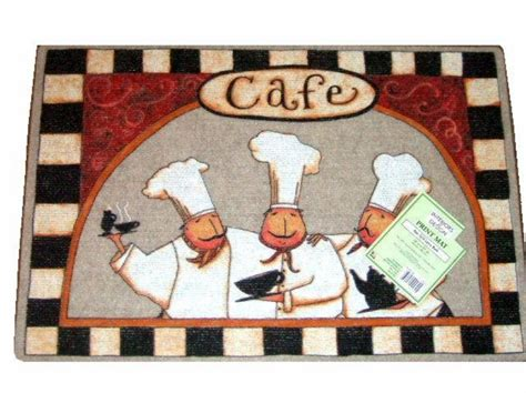 chef rugs chefs cafe kitchen rug