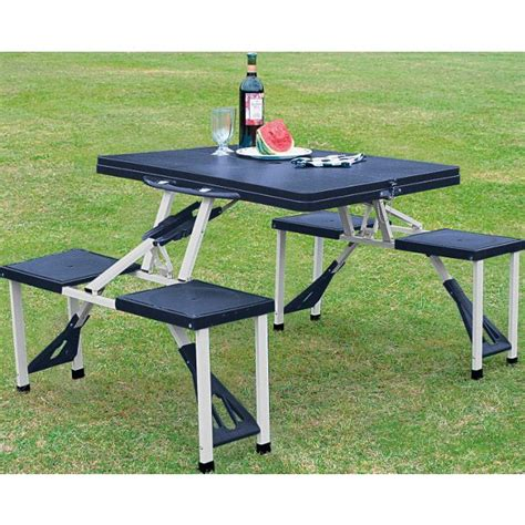 Folding Picnic Table And Stools by Buy Folding Picnic Table And Stools At Argos Co Uk Your