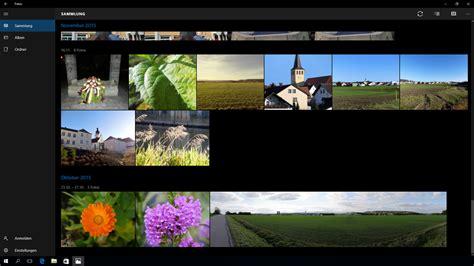 windows 10 miniaturas imagenes die fotos app von windows 10 im dkamera praxistest teil 1