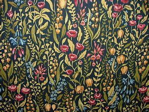 Cotton Upholstery Kelmscott Jewel Cotton Curtain Upholstery Quilting Fabric