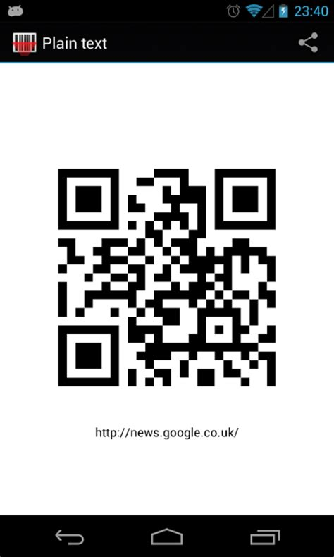 qr reader for android barcode qr scanner free android app android freeware