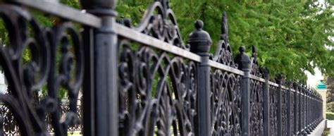2019 Average Wrought Iron Fence Installation Cost