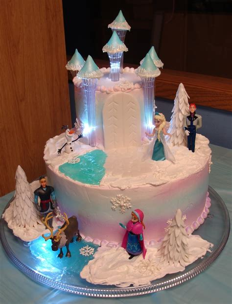 Freezer Cake disneys frozen cakecentral