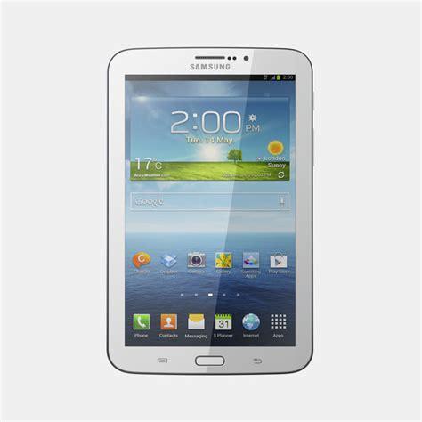 Samsung Tab 3 P3200 3d model samsung galaxy tab 3