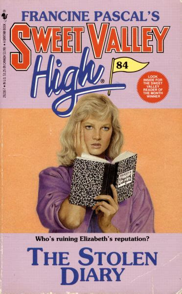 a stolen an elizabeth mcclaine thriller books sweet valley high 84 the stolen diary elizabeth and