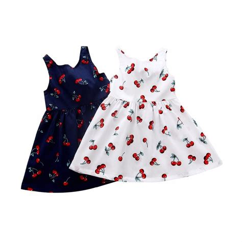 pattern for lace up back dress summer children kids girl cherry dress kids teens sleeves