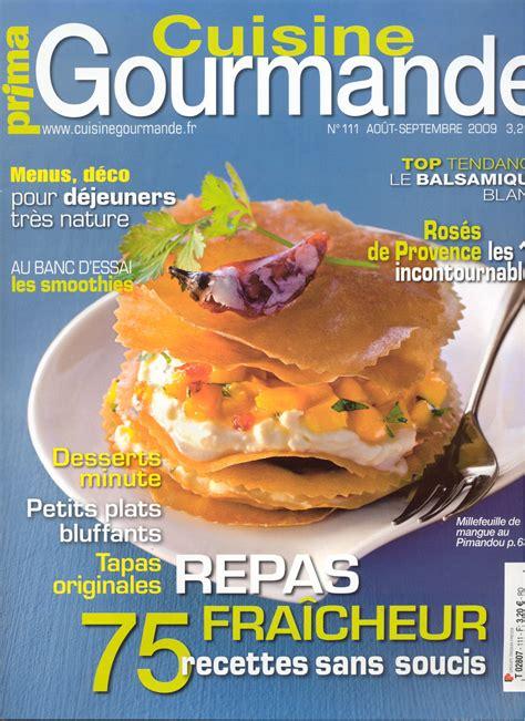 cuisine l馮鑽e et gourmande revue de presse 171 de l usage des douceurs