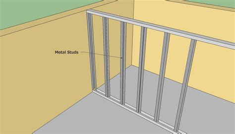 light gauge metal framing wall section the gallery for gt light gauge metal framing wall section