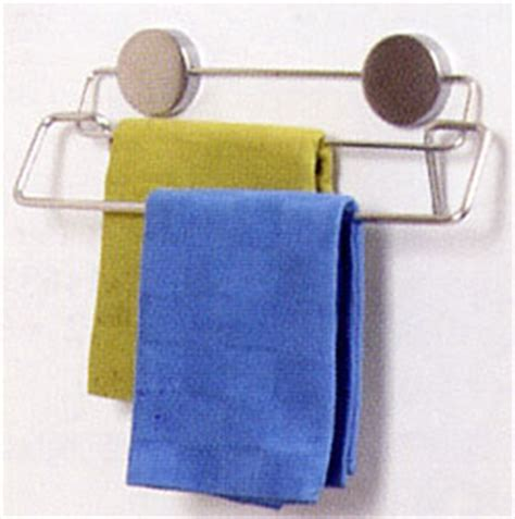 Magnetic Kitchen Towel Rack by Stainless Magnetic Towel Bar In Kitchen Towel Holders