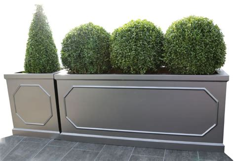 berkely grp cube planter trough planter  potstorecouk