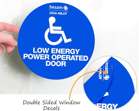 Window Decals Double Sided by Double Sided Window Decals Free Shipping From Labellab