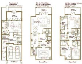 gallery for gt luxury townhouse floor plans