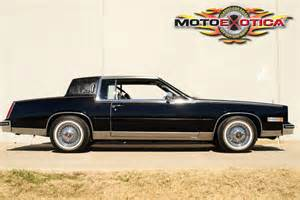 1985 Cadillac Eldorado Biarritz 1985 Cadillac Eldorado Biarritz Motoexotica Classic Car