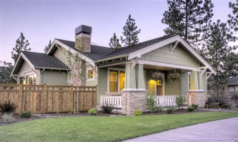 style home northwest style craftsman house plan single story
