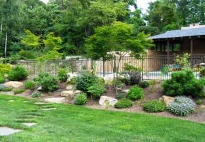 backyard landscaping this back yard was landscaped with