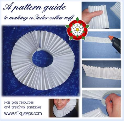 How To Make A Ruff Out Of Paper - a tudor collar or ruff for play