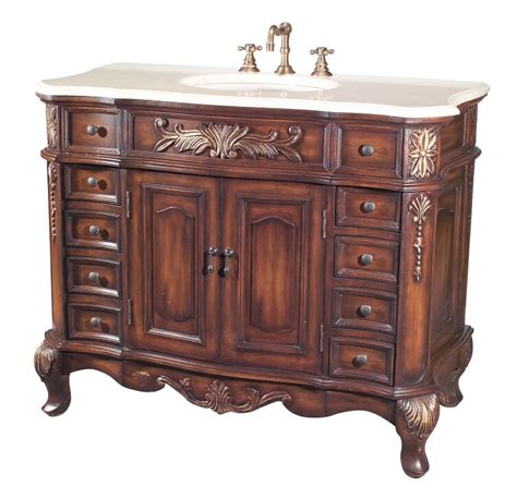 Antique Bathroom Vanities Antique Bathroom Vanity Cabinet The Antique Bathroom Vanity For Modern Bathroom Decor