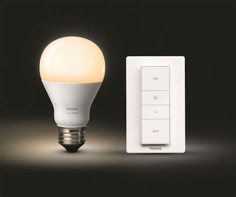 Writing Desk White Philips Hue With Wireless Dimming Ohgizmo