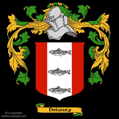 Delaney Coat Of Arms Family Crest Free Image To View