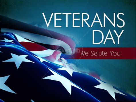Veterans Day Powerpoint Slideshow Powerpoint Sermons Veteran Powerpoint Template