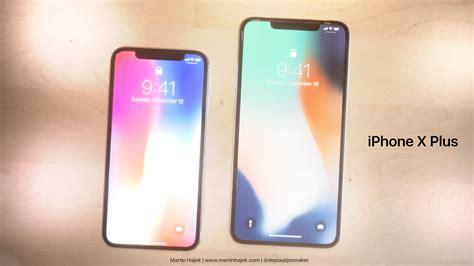 Iphone 10 Inch new renderings imagine 6 7 inch iphone x plus ios e how