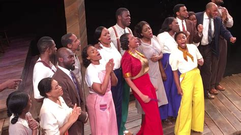 the color purple broadway cast cast of broadway s quot the color purple quot pays tribute to