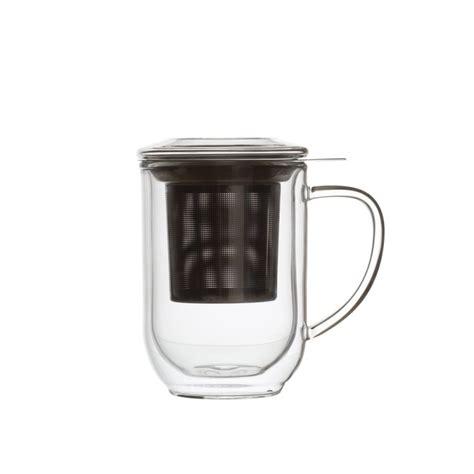 downtown mug verre paroi avec filtre dammann fr 232 res