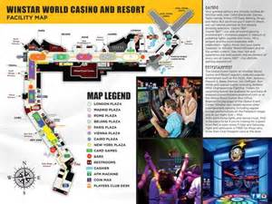 Winstar Casino Floor Plan by Winstar World Casino And Resort Maplets