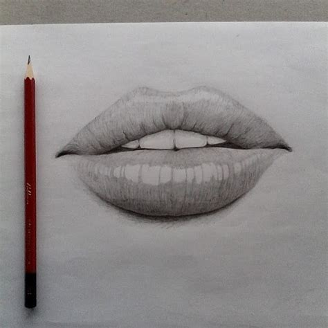 Drawing Mouths by 4 Ways To Draw Mouths Wikihow