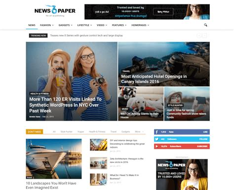newspaper theme ads 25 best google adsense wordpress themes 2018 theme junkie