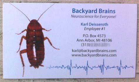 backyard brains roboroach karlcard