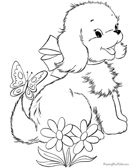 free printable coloring pages cute puppies puppy world puppy dogs pictures