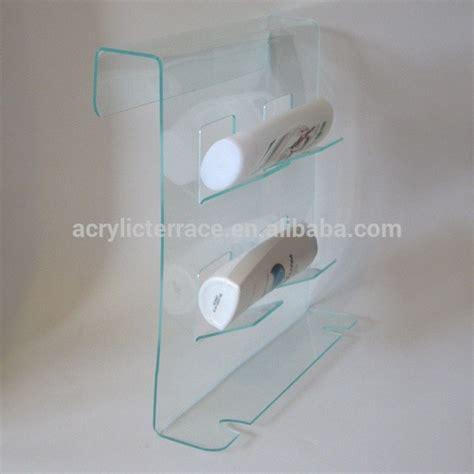 bathroom perspex ha1403023044 shower caddy acrylic bathroom shelf lucite