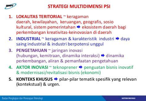 daerah teritorial adalah contoh implementasi penguatan sistem inovasi di beberapa