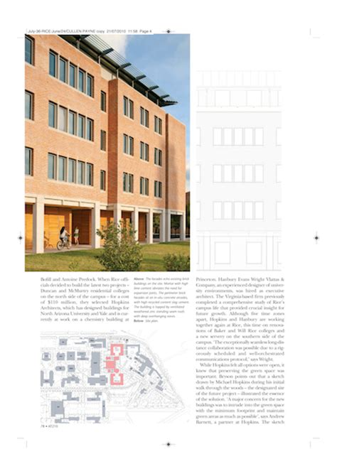 design management university rice university spencer howard design construction