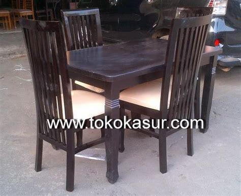 Meja Makan 4 Kursi Balelo Kayu Warna jual meja makan 4 kursi balelo kayu warna salak