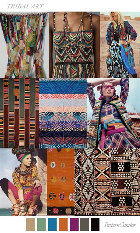 fashion vignette trends pattern curator print trends pattern curator color print tribal art
