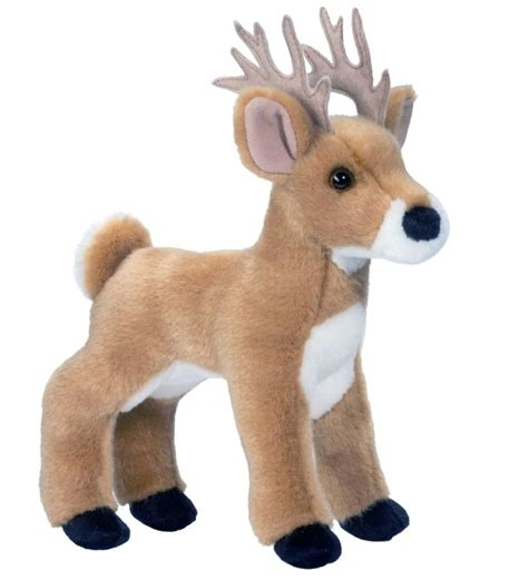 douglas swift white tail deer 9 quot plush buck stuffed animal