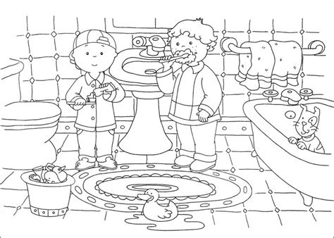 pages for toddlers free printable caillou coloring pages for