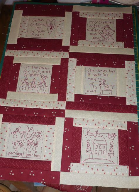 Stitchery Quilts stitchery quilt project the happy