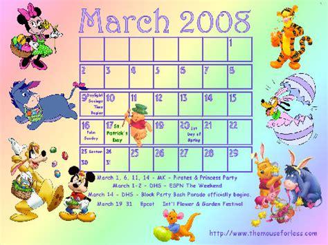 Disney Pass Calendar Cool Disney Desktop Calendar Take A Look Passporter