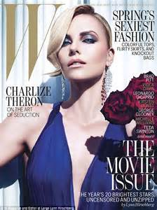 Mag Cover Fashion Faceoff Charlize Vs Kate by Charlize Theron Admits To Wearing Bra Pads To Boost