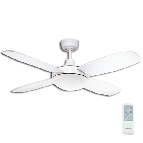Lifestyle Mini Ceiling Fan With Light And Remote In White 42 Quot Mini Ceiling Fan With Light